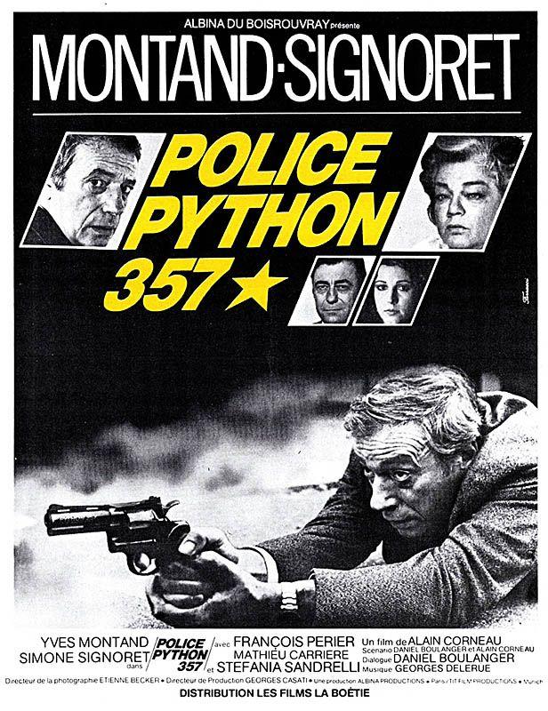 Redécouvrez la bande-annonce du film Police Python 357 ponctuée des secrets de tournage et d'anecdotes sur celui-ci. Police Python 357 est un film français
