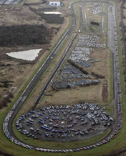 Sheerness, United Kingdom...unsold cars...what happens to 'em?