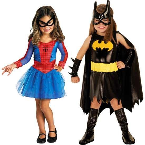 Detail Batgirl Spider Girl Toddler Costume