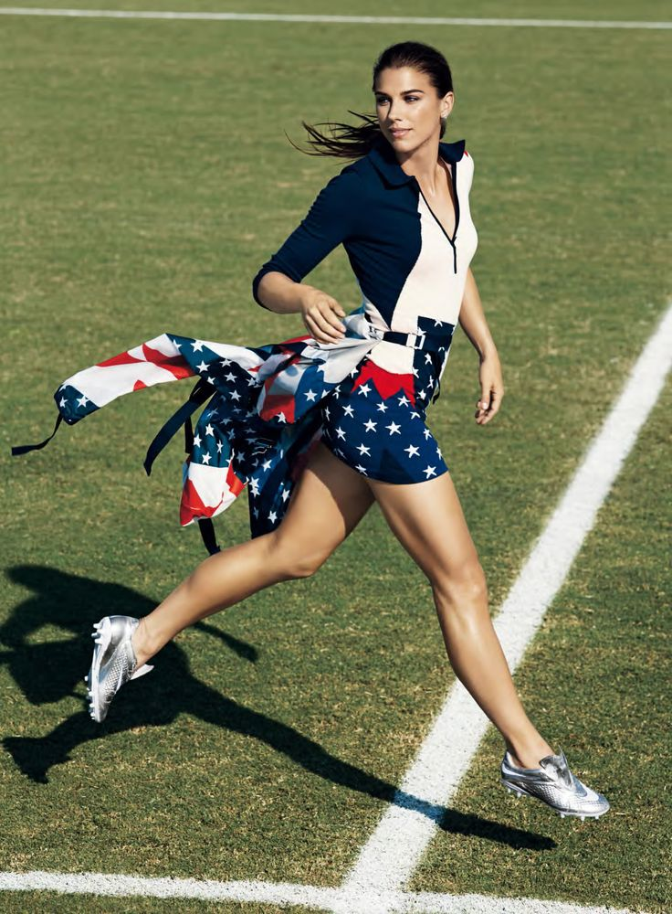 Alex Morgan for SELF by Jacob Sutton
