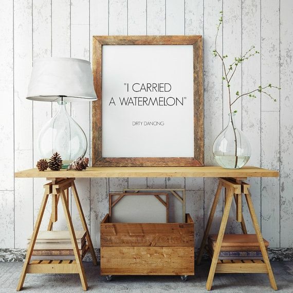 I Carried a Watermelon Downloadable Print, Poster, 8x10, A4, Teen Gift Idea, Shabby Chic, Printable Poster, Gallery Art, Inspirational Print