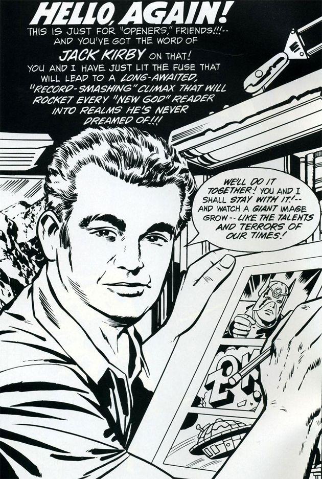Jack Kirby by Jack Kirby, New Gods #1