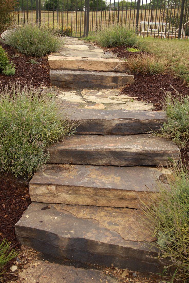 Image result for uphill sidewalk landscape ideas ... on Uphill Backyard Landscaping Ideas id=16766