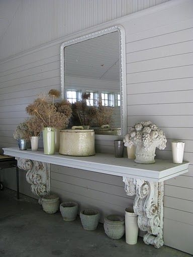 Did something similar in our new building. Shelf is granite and corbels are stained. Love it.    # Pinterest++ for iPad #