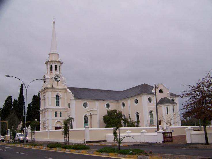 Dutch Reformed Church in Wellington, South Africa