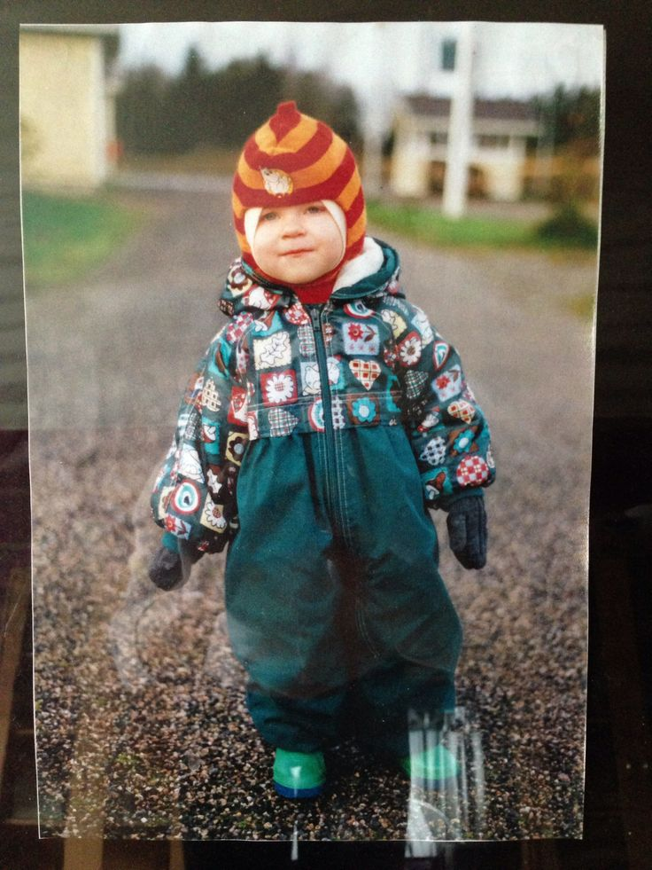 #Reima70 Here is my dauther with an overall I got from the Maternity package in 1996. I loved this overall very much. -Tanja