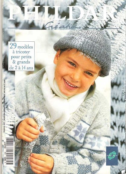 Phildar Baby Knitting Pattern Books : 156 best images about Phildar on Pinterest