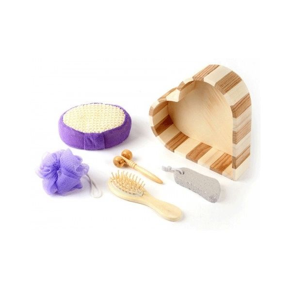 Bambu Banyo ve Spa Seti (Kalp) - Housemax ~ Güvenilir alışverişin adresi