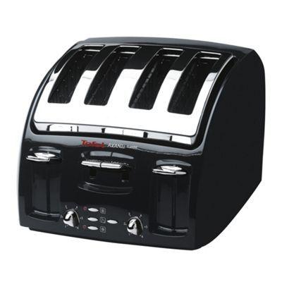 Tefal Tefal black 'Avanti' four slice toaster 532718- at Debenhams.com