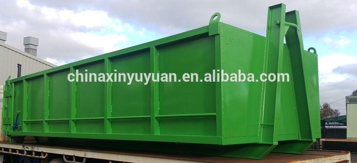 10m3 trailer roll off dumpster hook lift bin for sale