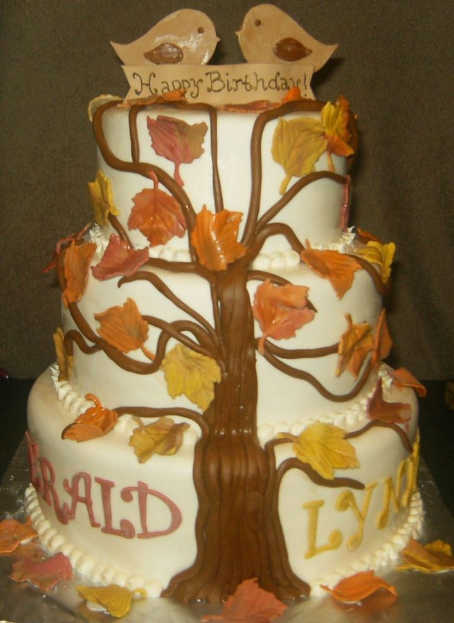 Birthday Cake Ideas For Husband And Wife : 17 Best ideas about Fall Birthday Cakes on Pinterest ...