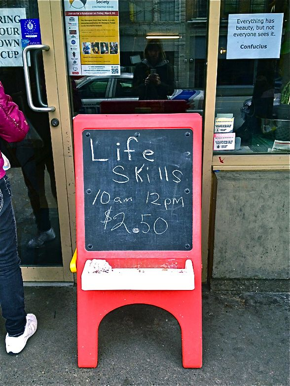A Tempting Offer For $2.50 On The Downtown Eastside