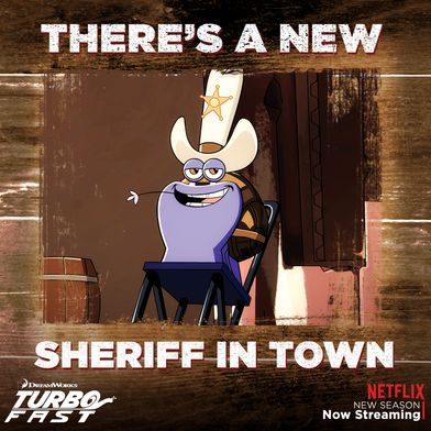 #TurboFAST goes western, when Chet becomes the new Sheriff in town!