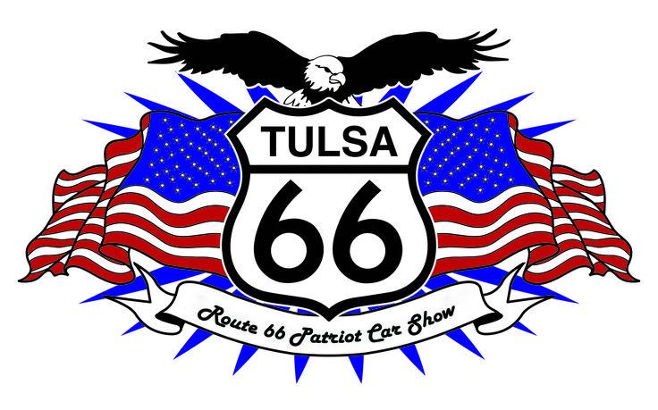Rt.66 Patriot Car Show Logo