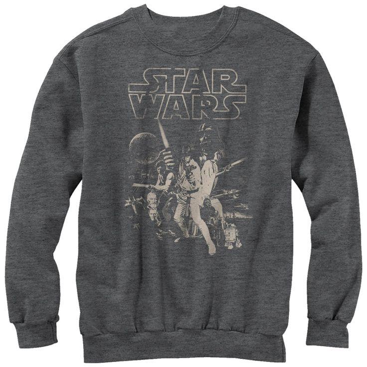 Star Wars Men's - Classic Poster Sweatshirt #fifthsun #starwars