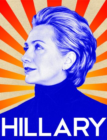 Hillary Clinton campaign poster from 2008. One of my girls has one of these- love it.