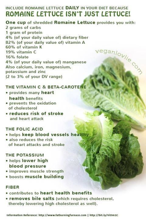 Benefits of Romaine Lettuce