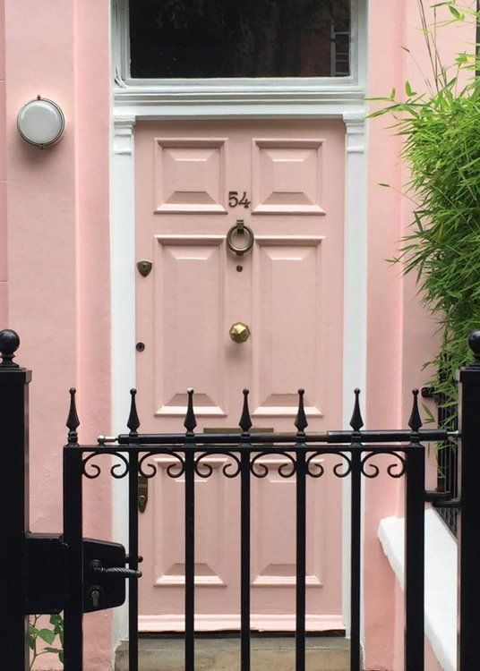 Pink Front Door That Looks Like Sherwin Williams Shadow Sw0070