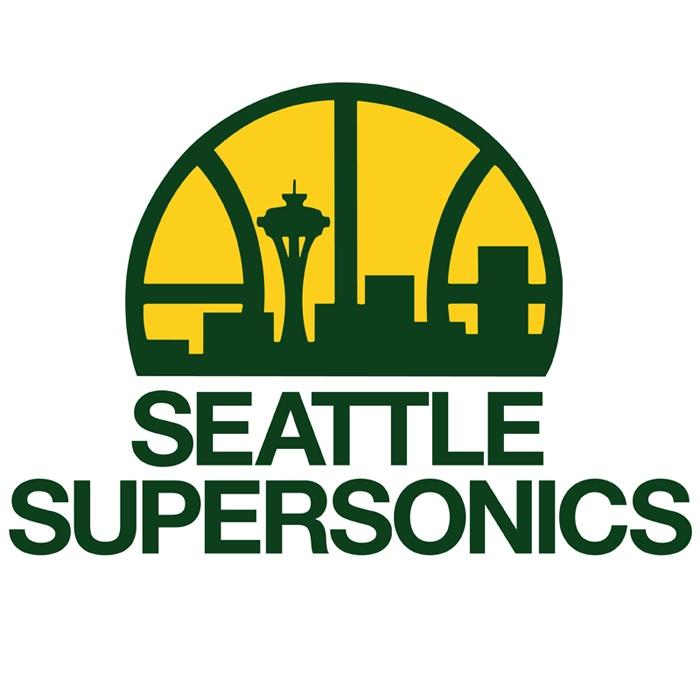 8cdf15fc Seattle Supersonics   The Emerald City   Sports logo, Logo basketball, Logos