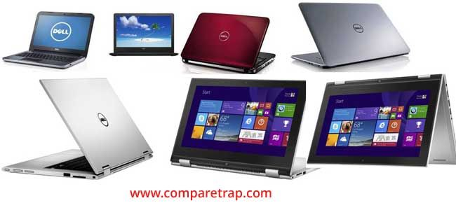 Dell laptop price list in India, Dell laptop with all new models Intel core i7, core i5, core i3 fast processing speeds