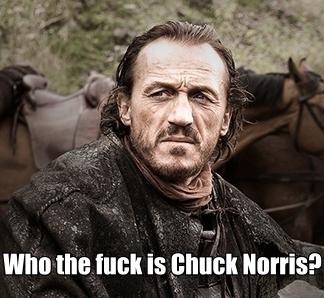 Chuck got competition.