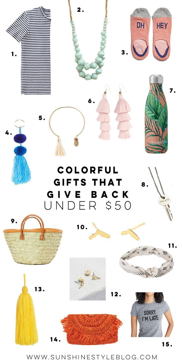 Gifts That Give Back Under 50 Sunshine Style Florida Fashion And Lifestyle Blog Thoughtful Gifts For Her Cute Christmas Gifts Ethical Gift