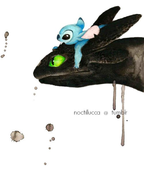 *STITCH & BOOP BE DOOP ~ Lilo and Stitch