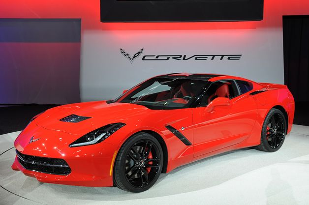 2014 Chevrolet Corvette Stingray. The base MSRP for the 450-horsepower Stingray Coupe will be $51,995, while the Stingray Convertible will go for $56,995