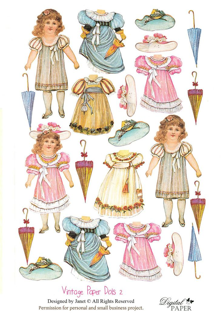 1153 best Paper Dolls: Advertising & Antiques images on Pinterest ...