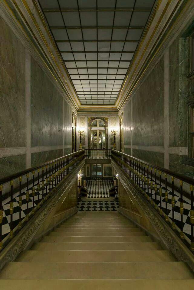 Interior château