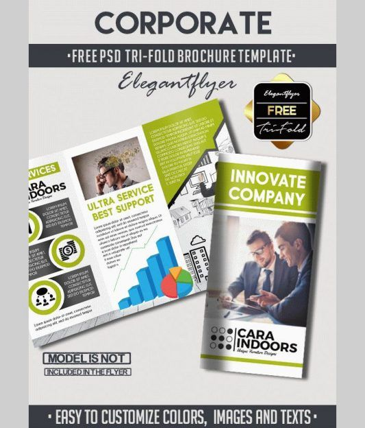best free business flyer and brochure templates in psd