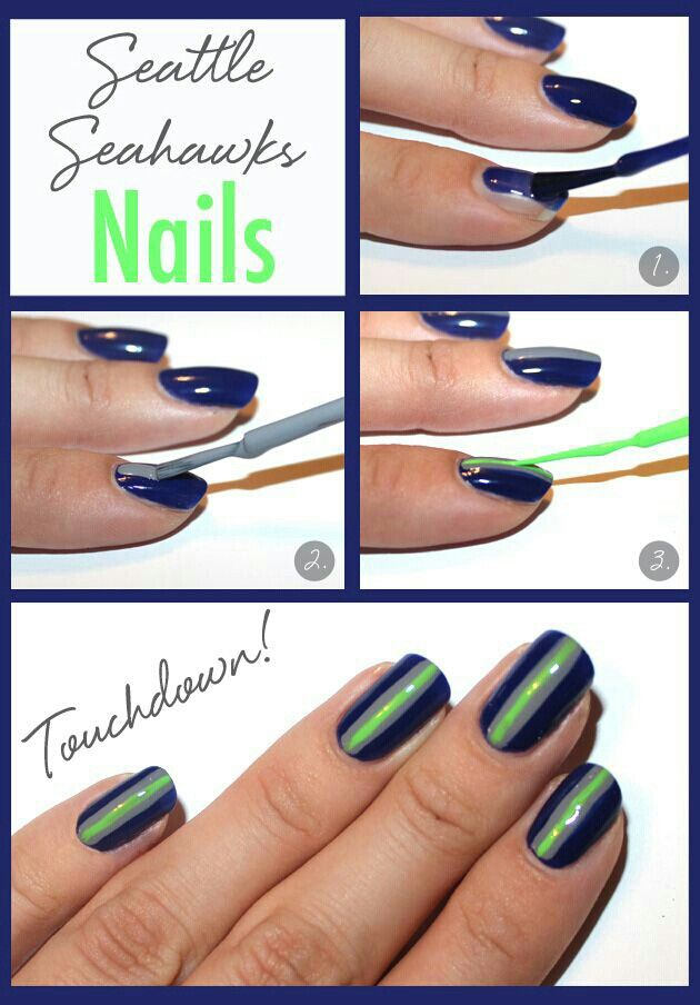 23 best Packers and all NFL Team Nails images on Pinterest ...
