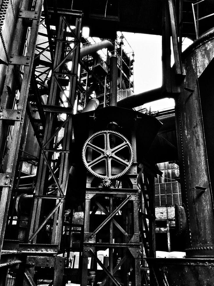 Steel City vol.10... (Steampunk) iPhone 6, Snapseed, Ostrava Instagram & EyeEm @majklb You Pic & 500px Michal Bulir