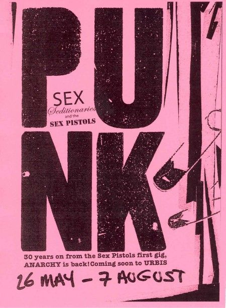 Punk: SEX, Seditionaries and The Sex Pistols, 26 May - 7 August 2005 @ Urbis; flyer detail [1]
