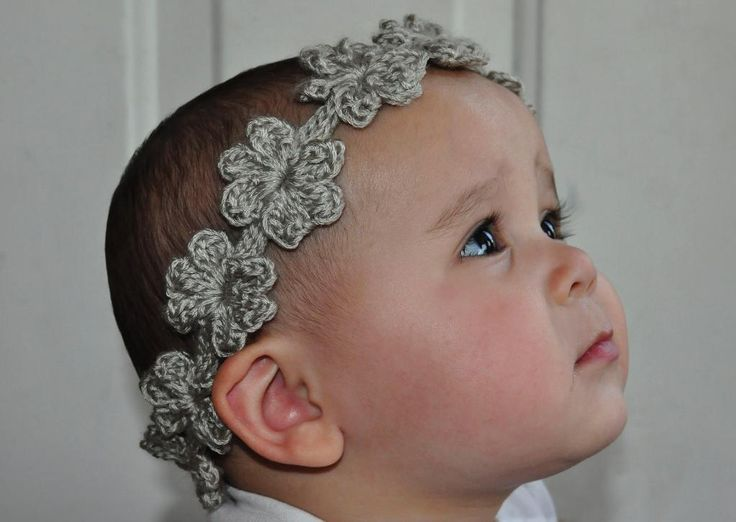 Crochet Headbands With Flowers Patterns For Adults Cake Walk For