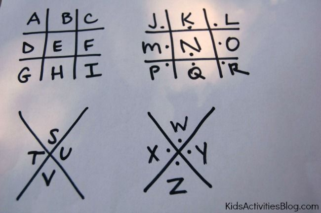 Secret Codes for Kids: fun ideas for writing coded messages