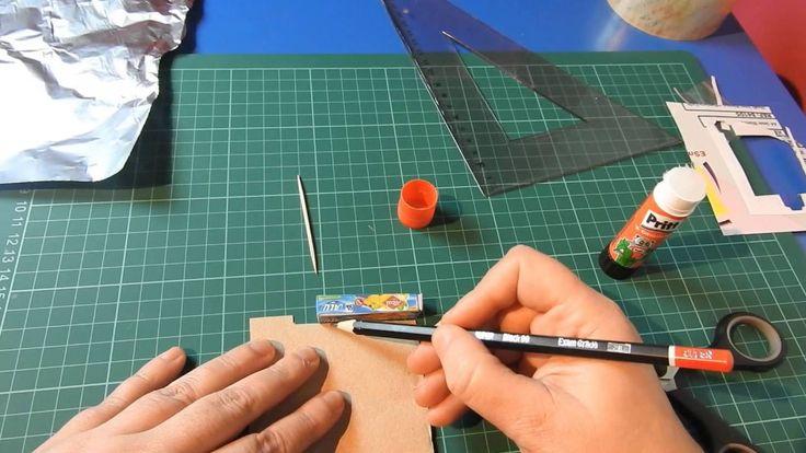 ¡¡ Muy fácil!!. Cómo hacer papel de aluminio en miniatura para nuestras ...
