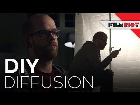 DIY Diffusion! - Using a shower curtain