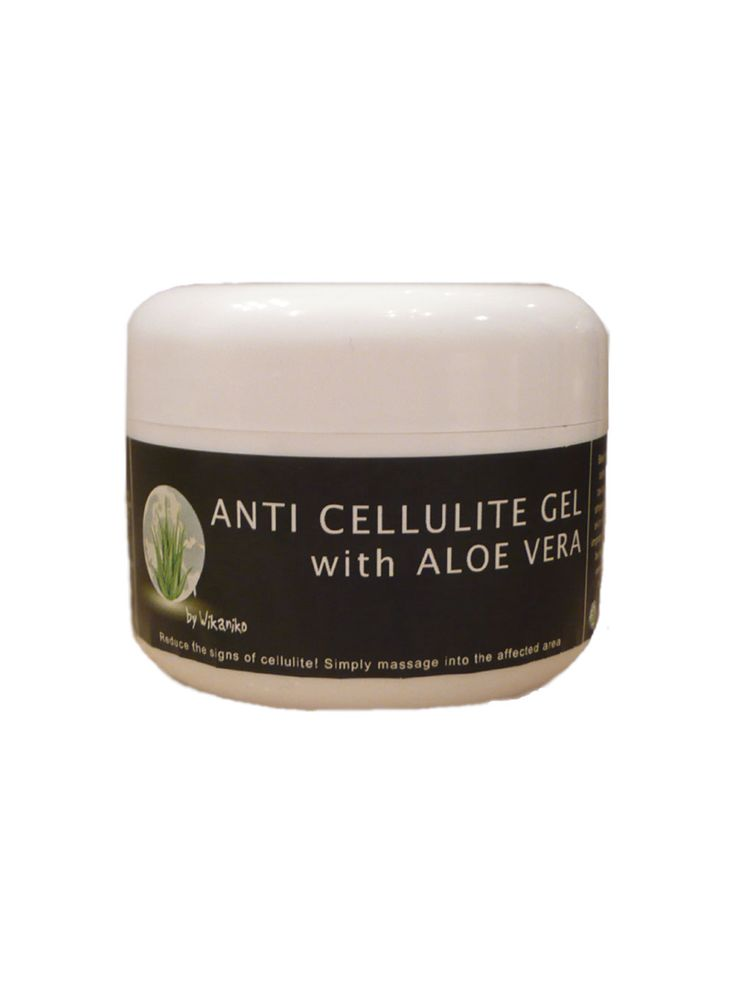 Aloe Vera Anti Cellulite Gel Reduce the signs of cellulite. Simply  massage into the affected area. Best  results are obtained after taking a bath or  shower (when the skin is warm). An  improvement should be seen after several  weeks if used regularly. 300ml