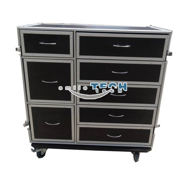 8 Drawers Flight Case Drawers Storage Drawers Office Cabinets