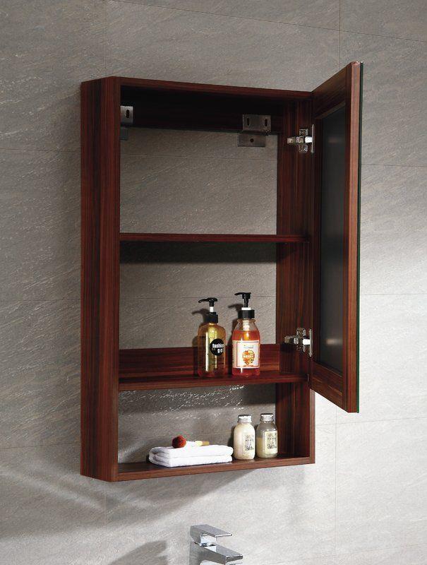Knott 19 63 X 31 5 Surface Mount Frameless Medicine Cabinet