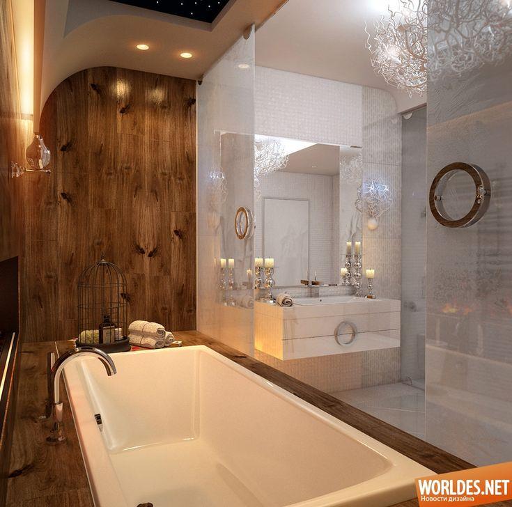 Роскошные ванные комнаты фото 4