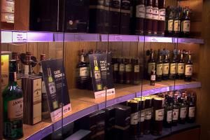When is Irish Whiskey the Perfect Souvenir?: A fine selection of Irish whiskeys at the Old Jameson Distillery, Dublin
