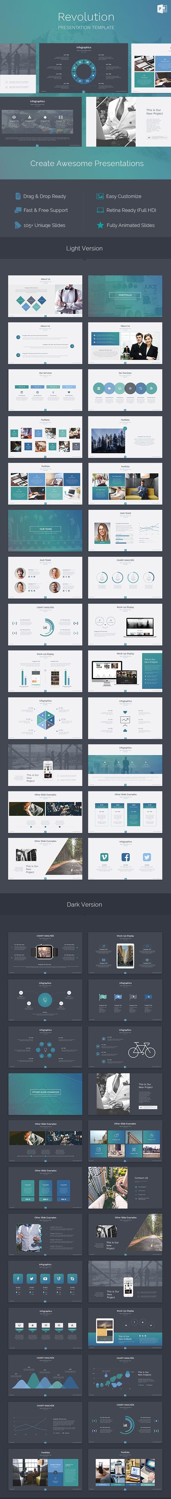 Revolution - Creative Powerpoint Template - PowerPoint Templates Presentation…