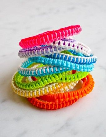 easy friendship bracelet instructions