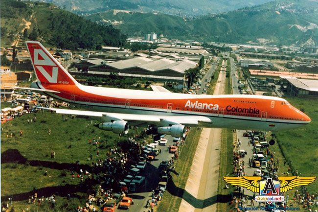 Avianca y sus Jumbo 747