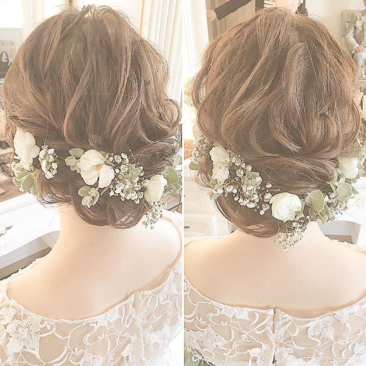 いいね!629件、コメント1件 ― tomoko tanakahair makeさん(@tomoko_make)のInstagramアカウント: 「*** . 本日は . #ヴィラデマリアージュ宇都宮 . 梅雨真っ只中とは . 思えないくらい . 良いお天気の中での . 結婚式でした✨ . #結婚式#ヘアアレンジ…」
