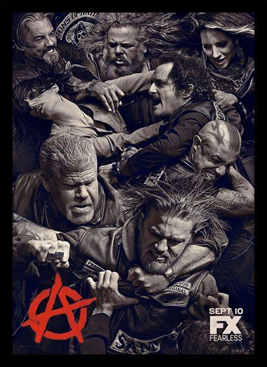 Quadro Poster Series Sons of Anarchy 12 - Decor10