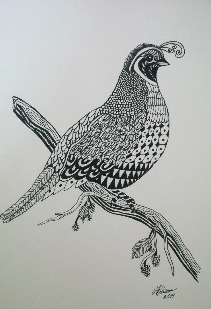 I made this Quail for my sister-in-law in July last year 2014