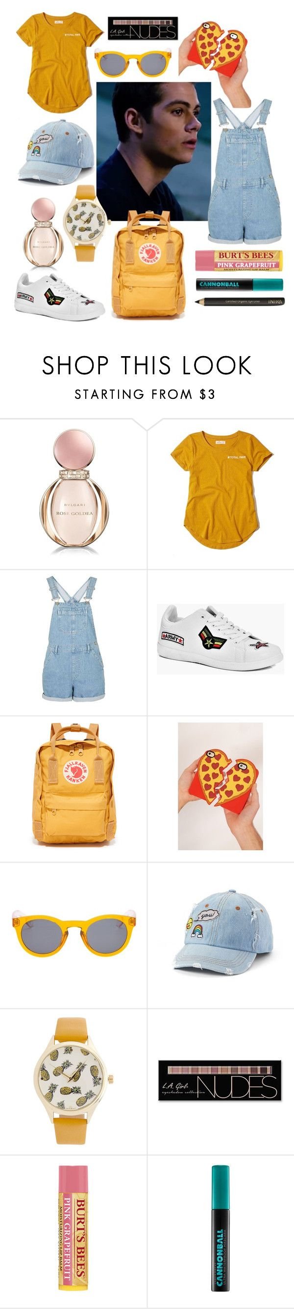 """""""You're the Only Pizza Me I Need"""" by shaetabor ❤ liked on Polyvore featuring Bulgari, Hollister Co., Boohoo, Fjällräven, Urban Outfitters, Vans, SO, Charlotte Russe and Urban Decay"""
